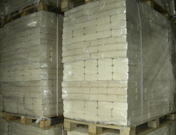 Упакованные топливные брикеты Руф